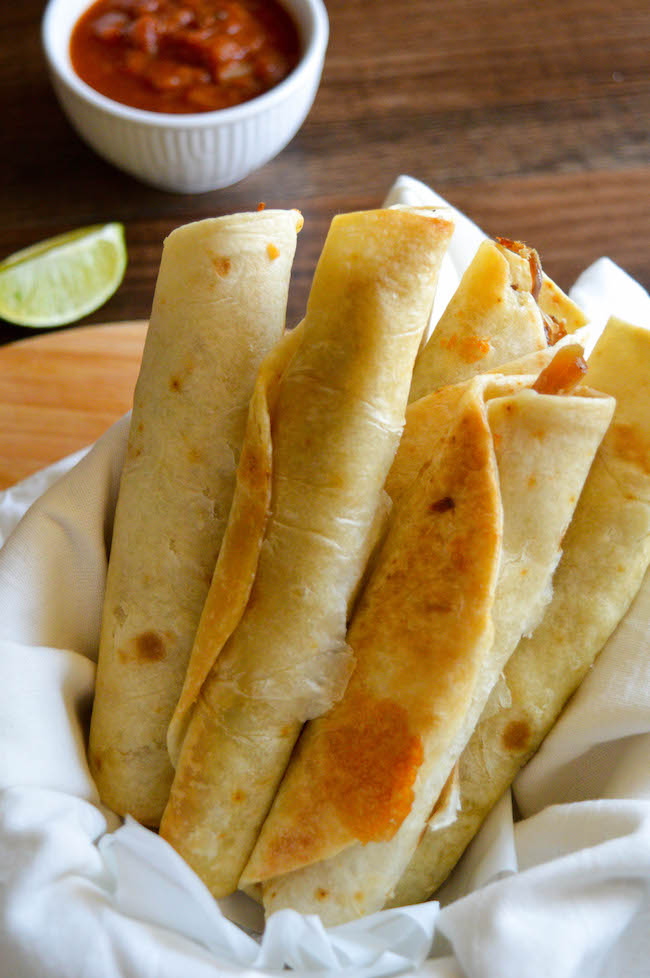 Weight Watchers Air Fryer pork Taquitos