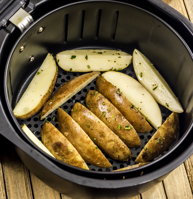 Air Fryer Herbed Potato Wedges Recipe Smart Points 5