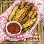 Air Fryer Herbed Crispy Skin Potato Wedges Recipe – WW Smart Points 5