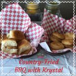 Country-Fried BBQ with Krystal®