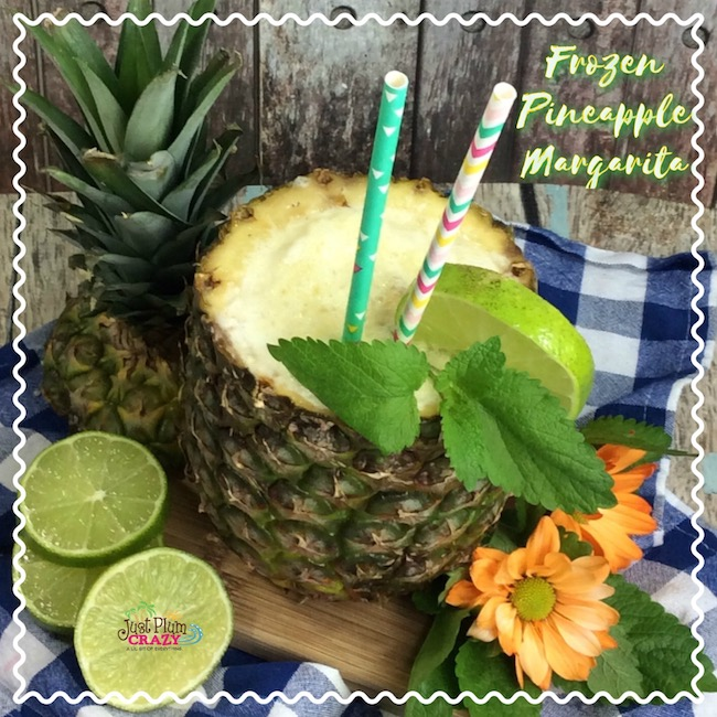 In honor of Cinco de Mayo, we are sharing a Frozen Pineapple Margarita Recipe. This can be made in a regular blender or a Nutri Ninja® Blender DUO™.
