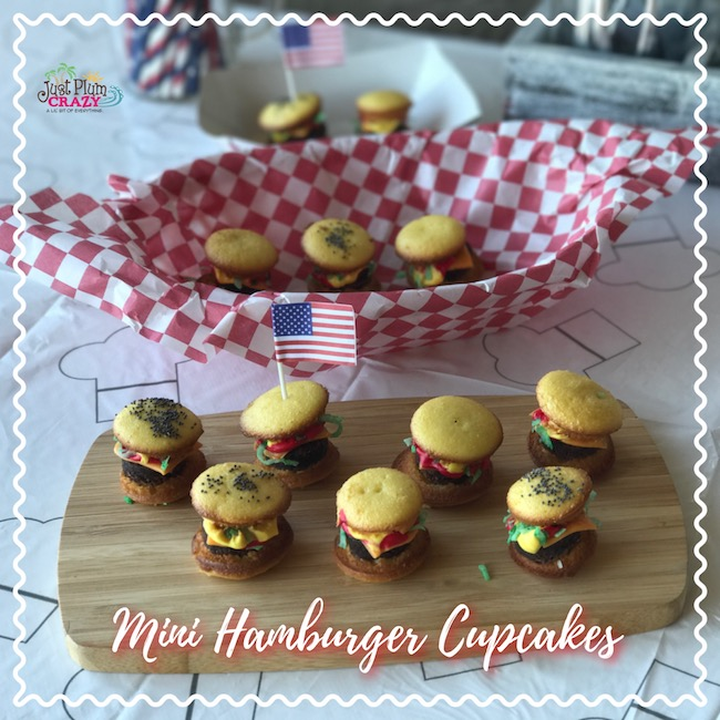 Mini Hamburger Cupcakes Recipe
