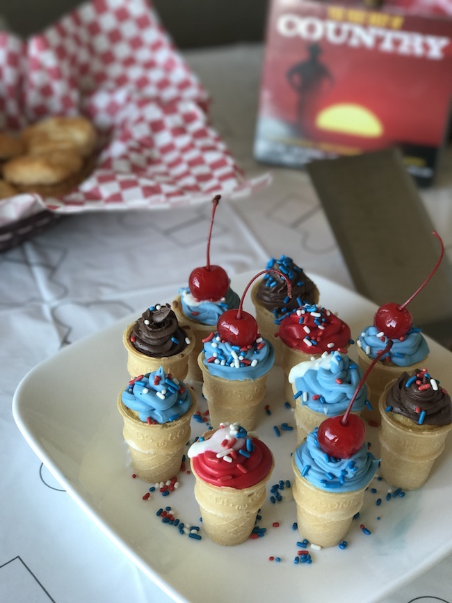 Mini Ice Cream Cone Cupcakes Recipe
