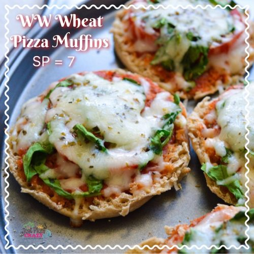 Wheat Pizza Muffins Recipe