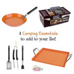 4 Camping Essentials to Add to Your List @MrBarBQ #Sponsored