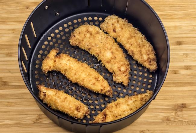 Air Fryer Crispy Chicken Fingers Recipe
