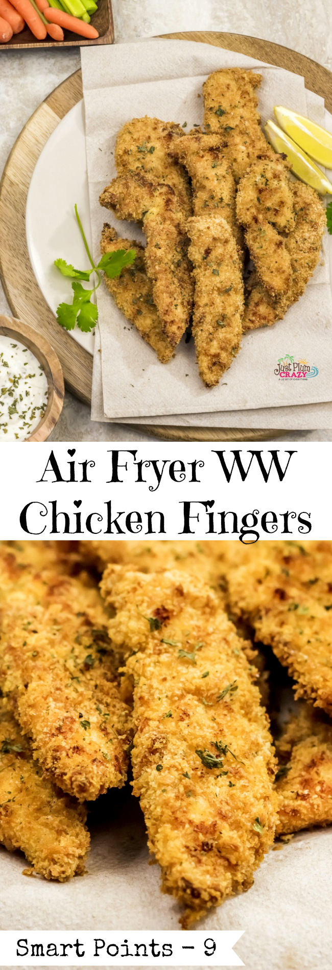 how to make chicken fingers in an air fryer