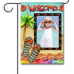 Flagology Welcome Photo Garden Flag