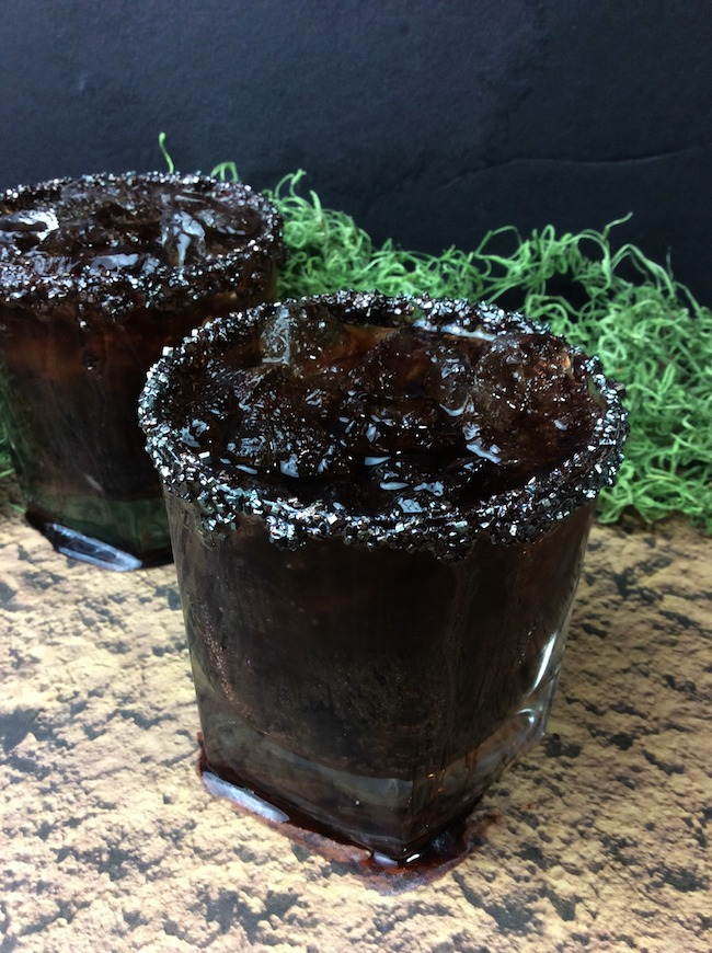 We just shared a Lightning McQueen Oreo recipe and Lightning McQueen Cupcake recipe, how about a Mater Oil Slick Cocktail recipe!