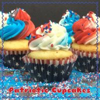 Red, White & Blue Cupcake Recipe