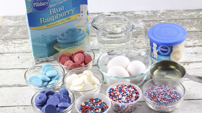 Cake batter truffles recipe ingredients