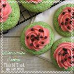Watermelon Cookies Recipe Day 2 #12DaysOf