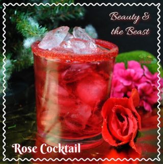 The Beauty and The Beast Rose Cocktail Recipe is perfect for your viewing party and will be coming out on on Digital HD, DVD, Blu-ray and DMA on June 6th.