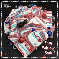 Patriotic Oreo Bark Recipe