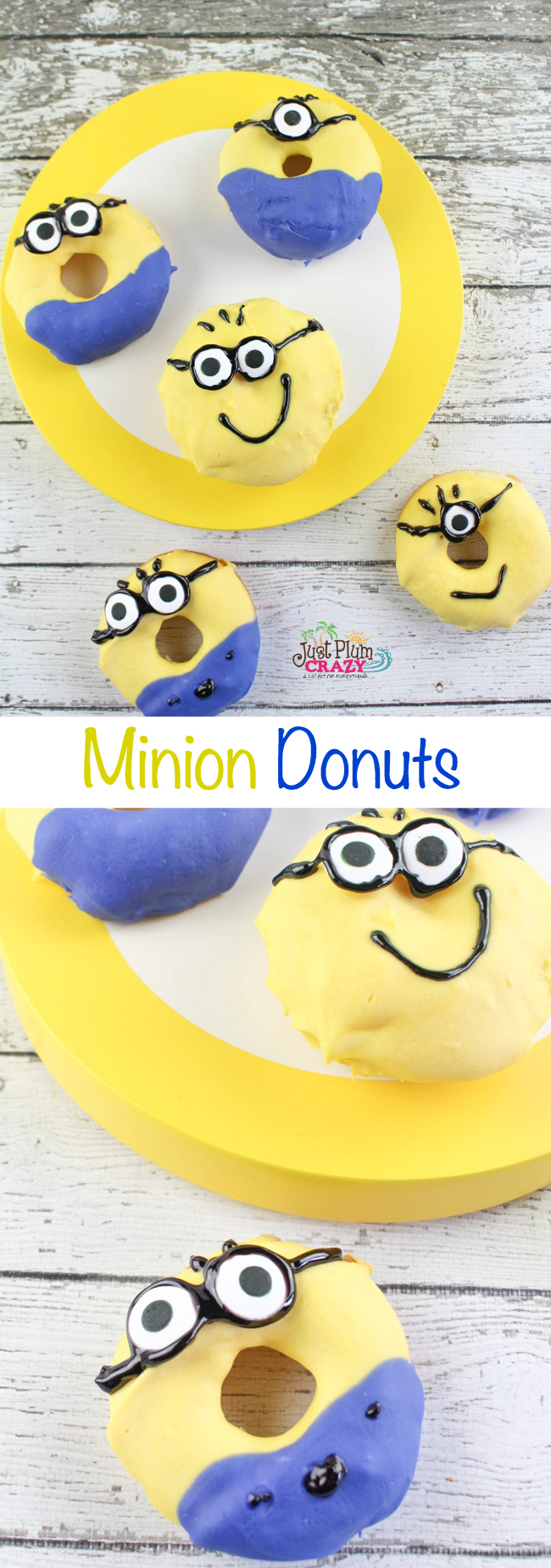 Despicable Me 3 is in theaters now! I have not seen it yet. Meanwhile, we have been making some Minion recipes such as the Minion Donuts recipe.