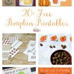 20+ Free Pumpkin Printables