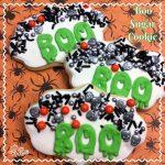 BOO Sugar Cookie Recipe