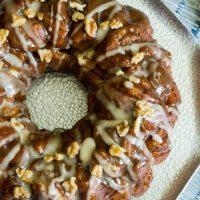 Bourbon Pumpkin Pecan Bundt Cake