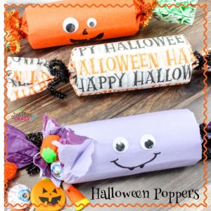 Thеrе аrе many simple Halloween decorations thаt саn bе easily made аt home wіth very less effort like the Halloween Poppers craft.