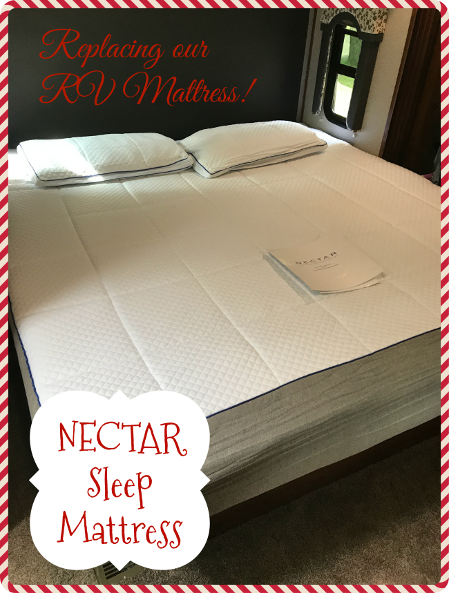 NECTAR Sleep Mattress is covered with a Tencel Cooling Cover, it wisks heat away, promotes air circulation, bedbug resistant and perfect as an RV mattress.