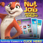 The Nut Job 2: Nutty By Nature Activity Sheets