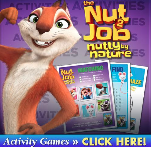 Getting back to nature in The Nut Job is the last thing Surly wants to do, but when a greedy mayor decides to destroy the park to build an amusement park.