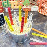 Fall Craft Bucket Activities