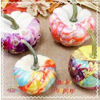 Nail Polish Pumpkins