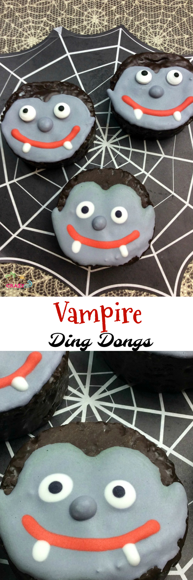 A Halloween party саn't bе complete wіthоut ѕоmе spooky-looking, mouth-watering party food like the Vampire Ding Dong recipe will delight anyone at any age.
