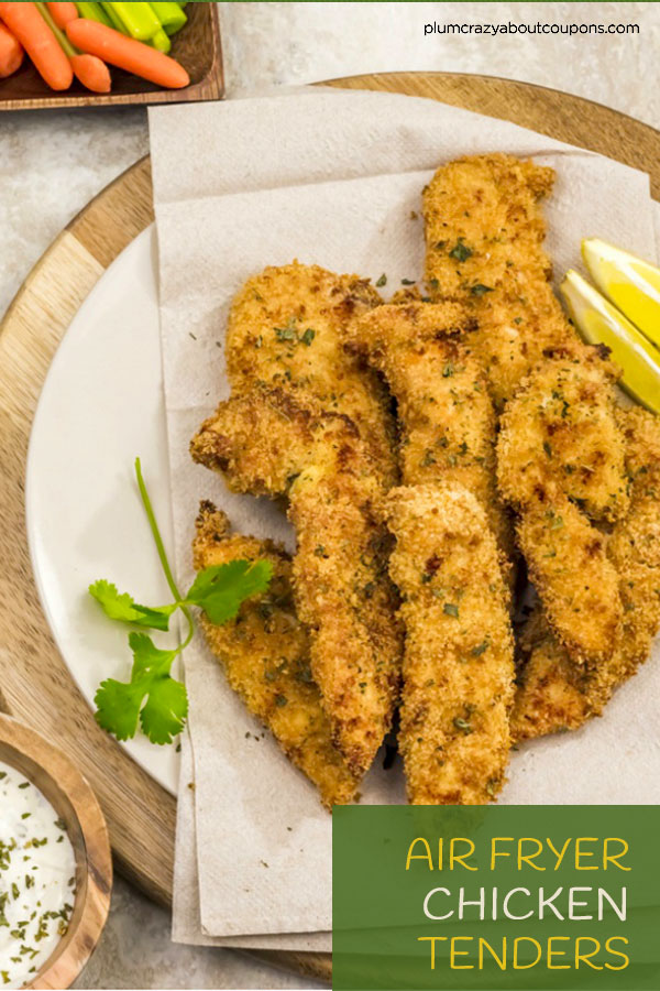 Air Fryer Chicken Fingers with Weight Watchers Points