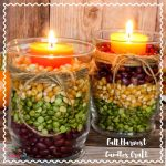 Fall Harvest Candles Craft