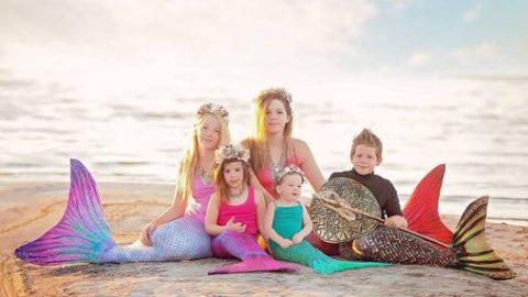 Sun Tail Mermaid has created the world's best swimmable mermaid tails and flippers. They are soft, comfortable, and come in a variety of designs and colors.