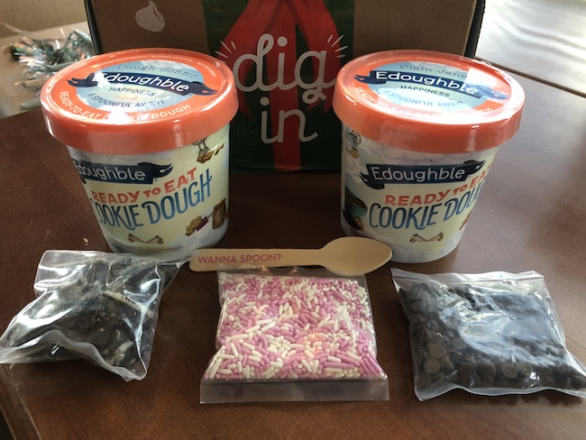 Finally a cookie dough you can eat and don't have to feel guilty about! Edoughble.com has edible cookie dough that will legit blow your mind.