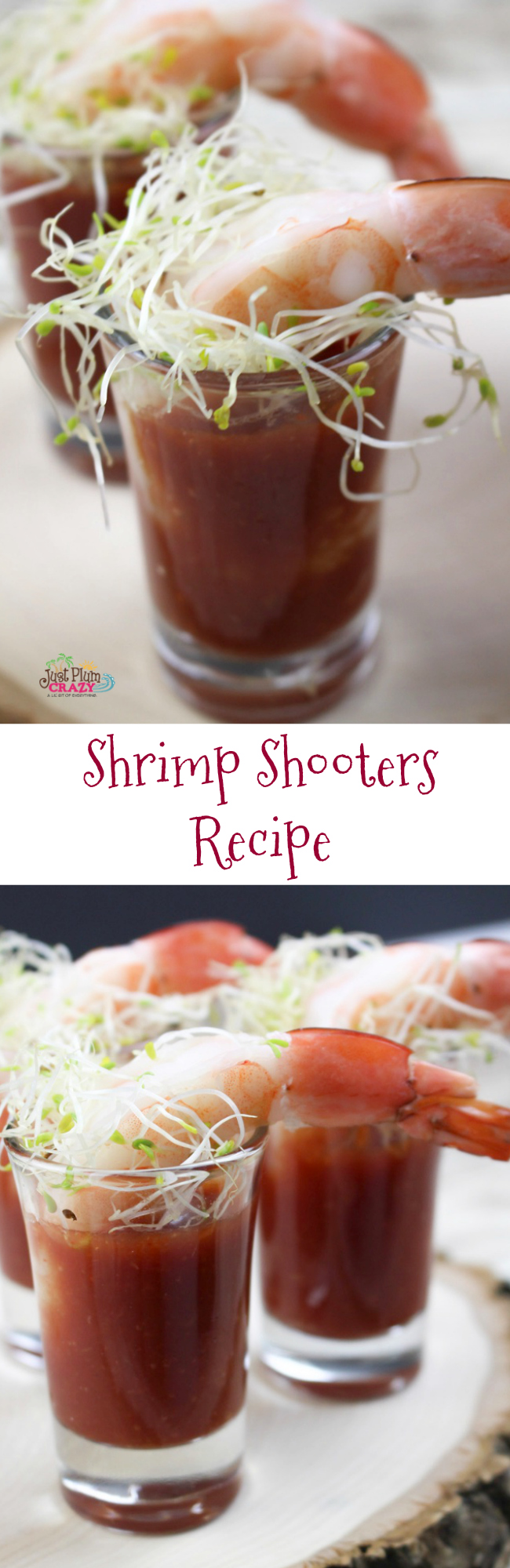 We just got through sharing some fun New Year's Eve crafts for you and the kids so now we have an easy Shrimp Shooters recipe. Because after all, you have eat so you can stay awake and party.