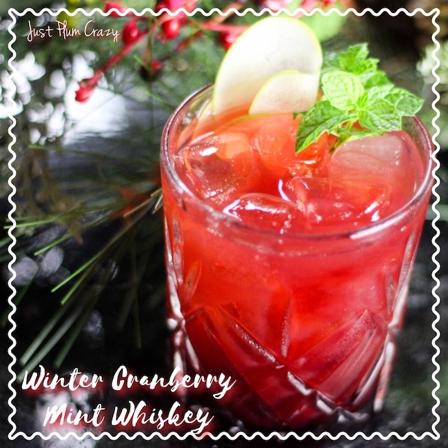 Christmas is almost here and we will be sharing a few awesome recipes in the upcoming days. Today we have a Winter Cranberry Mint Whiskey recipe.
