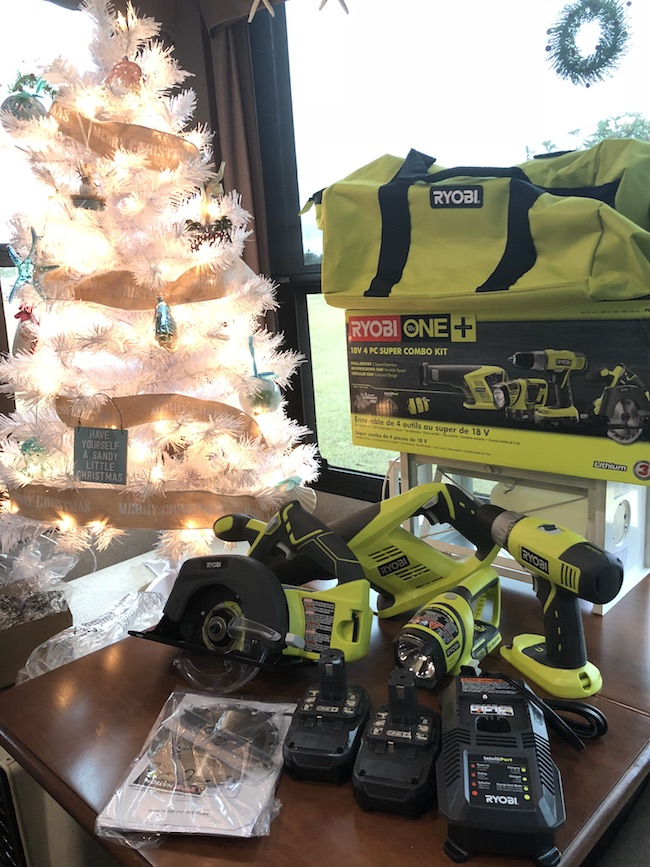 The Ryobi Super Combo kit is a must-have tool for the home. Whether you consider yourself to be pretty handy or mildly handy, this kit is a great option.