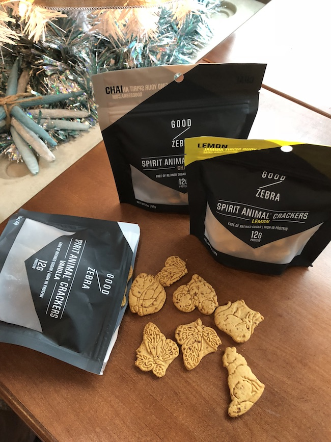 Good Zebra Spirit Animal Crackers are high in protein and free from refined sugar. What more a girl ask for? As for the taste....they are delicious!