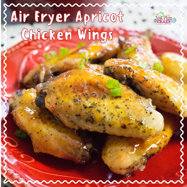 Apricot Air Fryer Chicken WIngs
