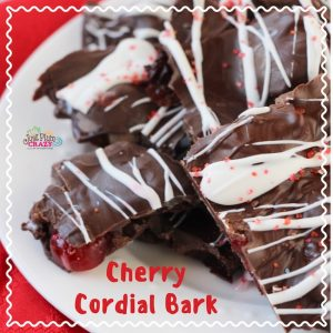 Welcome to day 3, January 3rd of our daily National Food Day recipes. Today we have a Chocolate Covered Cherry Cordial Bark Recipe since it's National Chocolate Covered Cherries day!