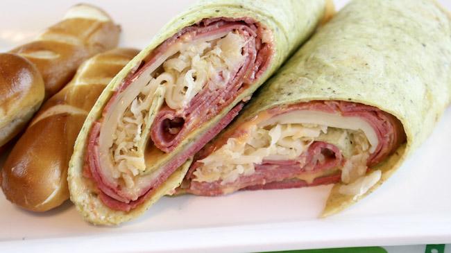 Corned Beef Reuben Wrap Recipe