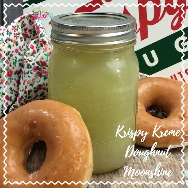 Moonshine Recipe Tastes Like Krispy Kreme Donut