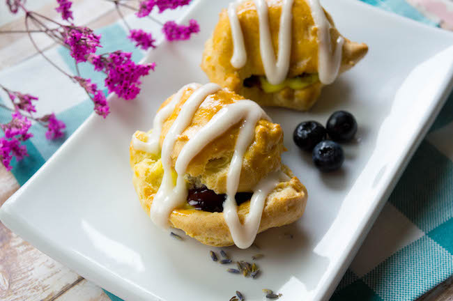 Today is National Cream Puffs Day! So of course we are sharing one of our favorite cream puffs recipe, Lemon Blueberry Cream Puffs recipe to be exact.