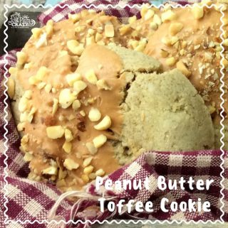 Moving along with our National Food Days recipes, today is National English Toffee Day! We don't however, have an English Toffee recipe but we have something better....A Peanut Butter Toffee Cookie recipe.