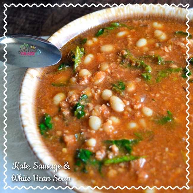 In honor of National Bean Day we are sharing one of our favorite and easiest soups to make, Slow Cooker Kale, Sausage and White Bean Soup Recipe.