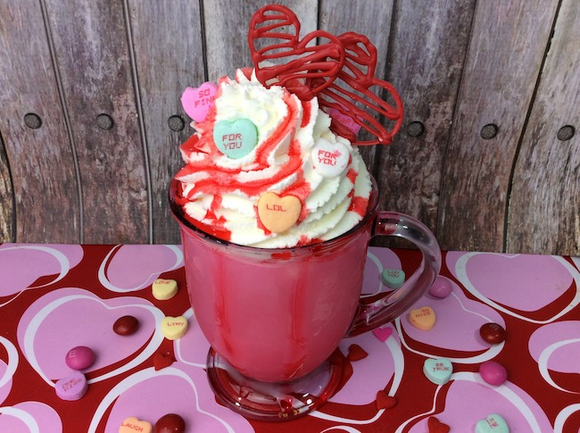 Valentine's Day Raspberry Milkshake Recipe