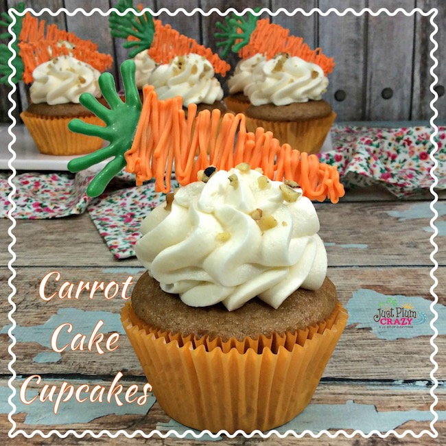 Carrot cake isn't only for Easter, but since it's early this year, we are sharing aCarrot Cake Cupcakes Recipe with Chocolate Carrots. In honor of National Carrot Cake day, we thought it fitting to share the perfect recipe for it.