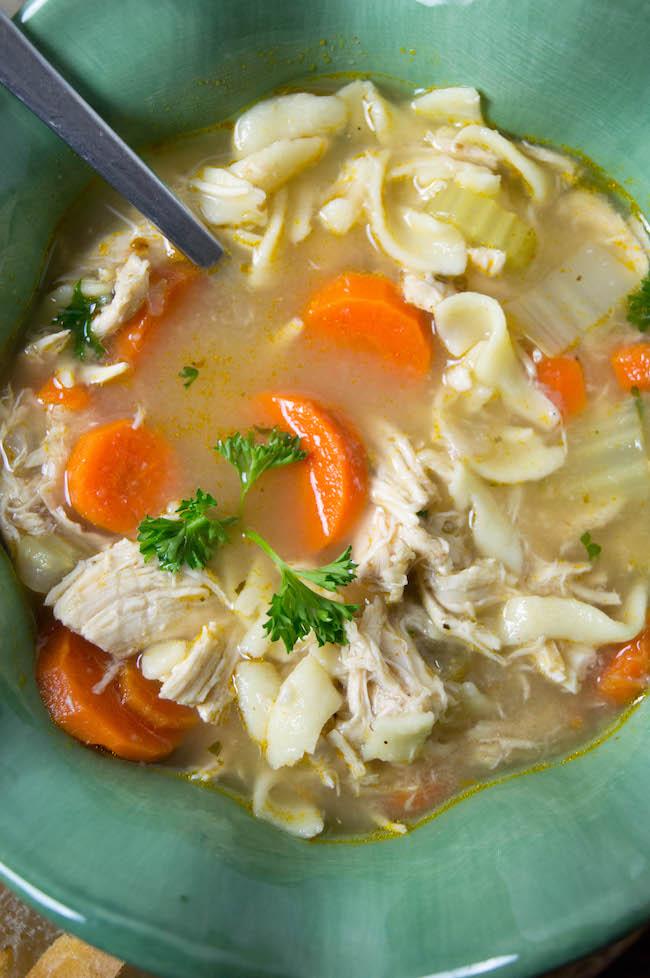 Rotisserie chicken chicken noodle soup recipe