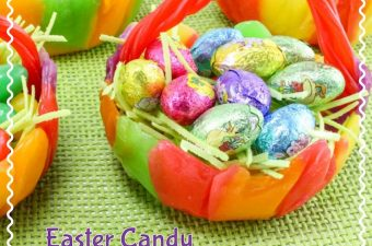 The Easter Candy Bowls Recipe are not just fun but it's easy and the kids love to help create them, fill them with fun candy and then eat them. Great for the classroom party too.