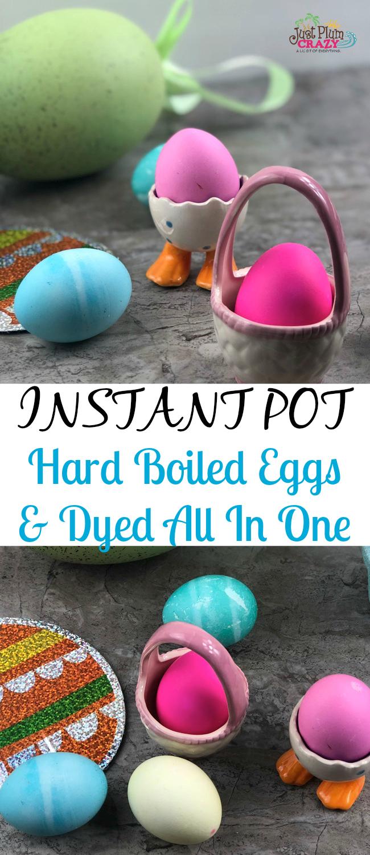 Instant Pot Hard Boiled Eggs For Easter