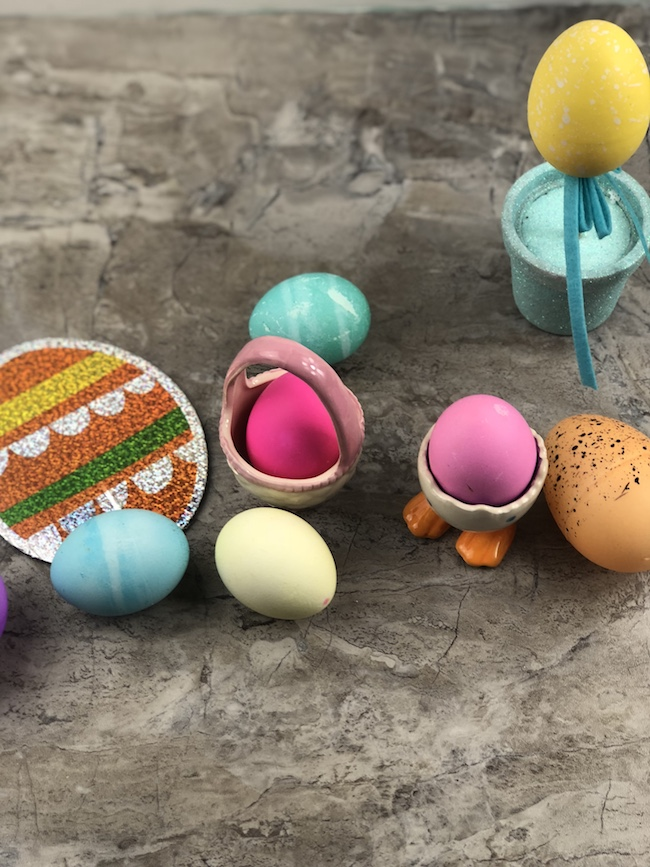Intant Pot Hard Boiled Eggs with Easter Egg Coloring